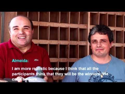 Final Race Winner Interview Jorge Almeida - PORTUGAL Arona-TENERIFE Final Race 2012 26th Mar 2012