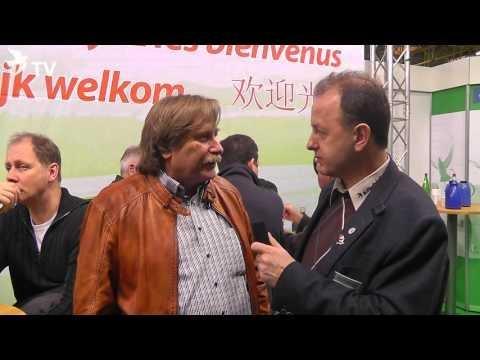 Peter Kocks im Kurzinterview mit Alfred Berger auf der Fugare 2016 (Brieftauben)
