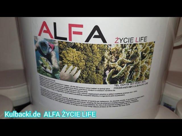Nowość Światowa: ALFA ŻYCIE LIVE, super produkt życia firmy Kulbacki+ Plan na loty (jakość APTECZNA)