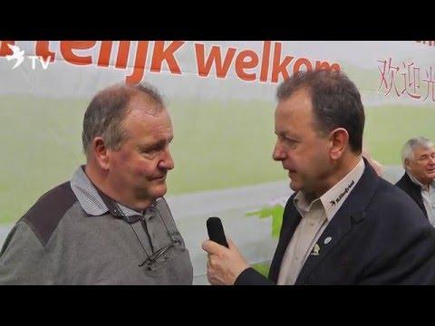 Dirk Van Dyck im Kurzinterview mit Alfred Berger auf der Fugare in Belgien 2016 (Brieftauben)