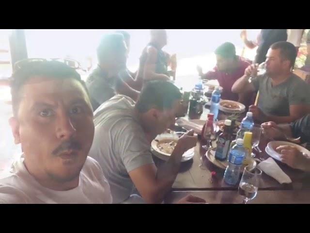 Final del Dervi de camajuani,visita de los amigos mexicanos a Cuba