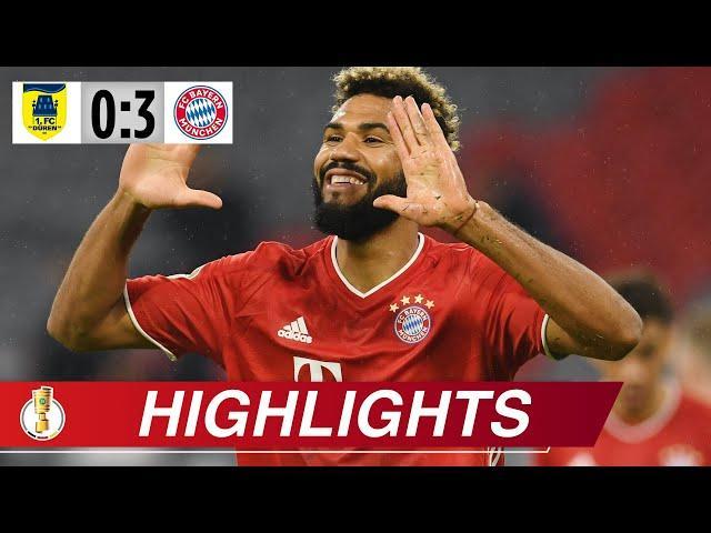 Mit Doppel-Choupo in die nächste Runde | Düren - Bayern 0:3 | DFB-Pokal | Highlights