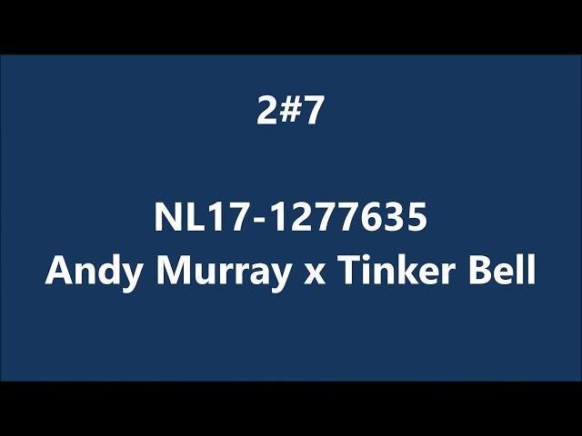 NL17-1277635 Andu Murray x Tinker Bell