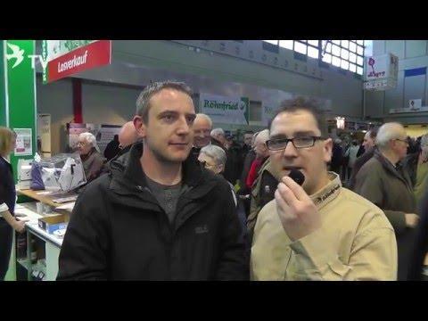 Rene Müller im Kurzinterview mit Daniel Becker auf der DBA 2016 (Brieftauben)