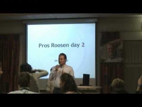 Openbare verkoping Pros Roosen - dankwoord Stefan Roosen