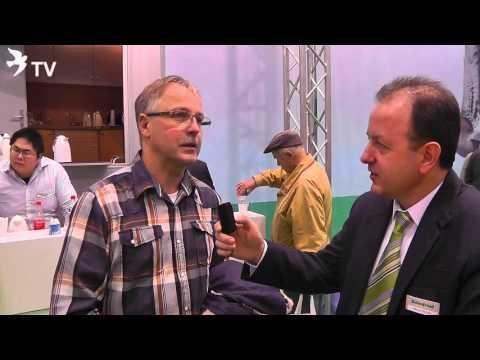 Franz Hensgens im Kurzinterview mit Alfred Berger auf der DBA 2016 (Brieftauben)