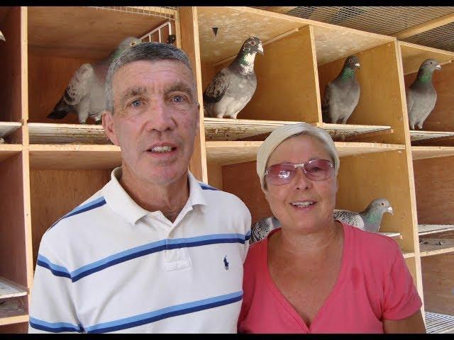 Video 407: Rod & Angela  Berry of New Milton: Premier Pigeon Racers